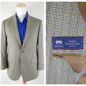 BrooksBrothers British Moon Houndstooth Sport Coat